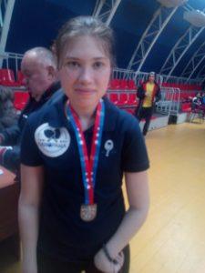 Read more about the article Дарья Барилова серебряный призёр турнира в Ростове