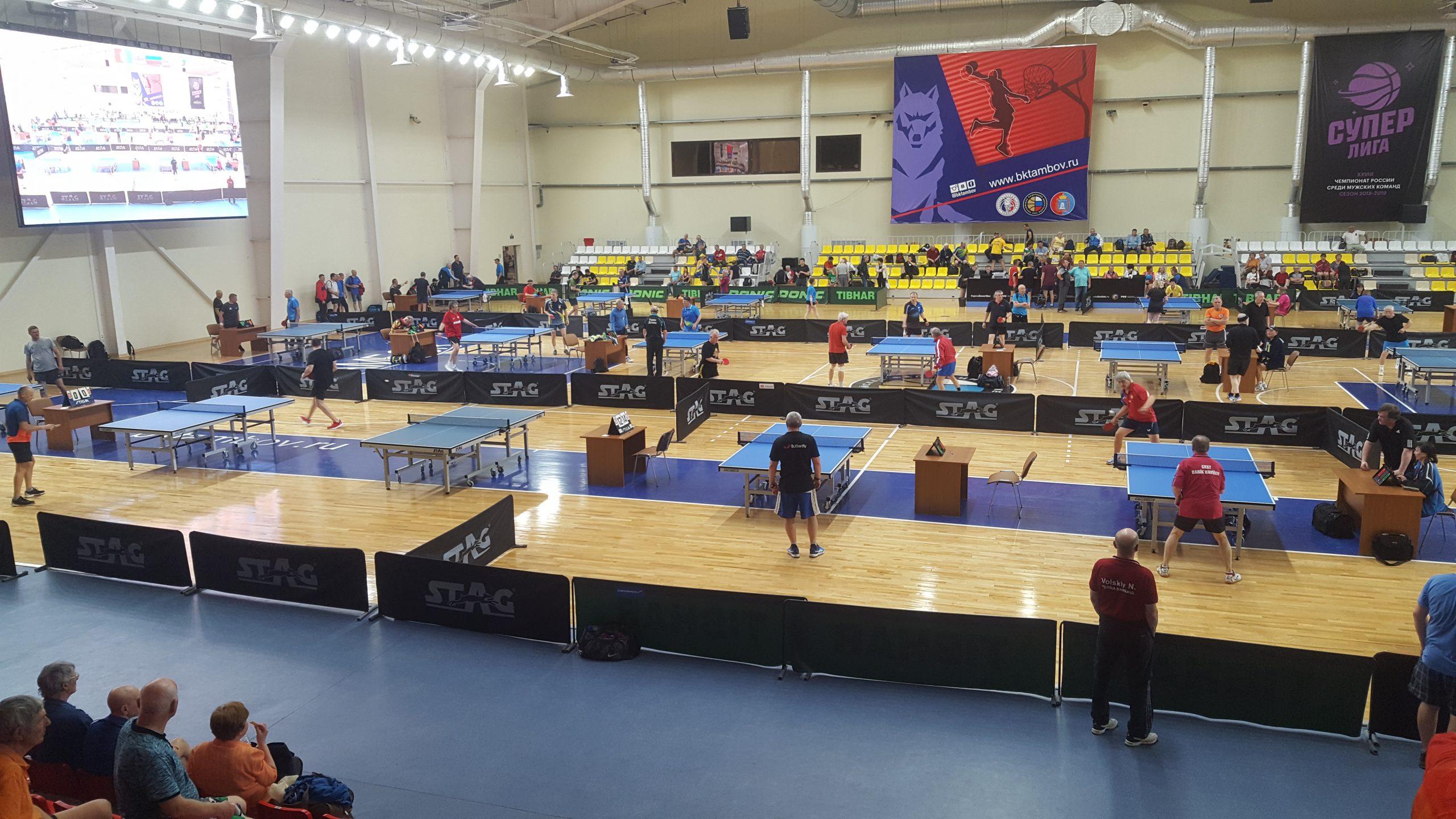 You are currently viewing Чемпионат России по настольному теннису среди ветеранов в Тамбове.