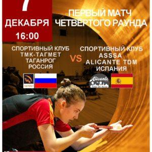 Кубок Европы 07.12.2019 в Таганроге!