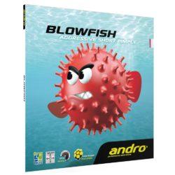 Накладка Andro Blowfish красная 2.0 мм.