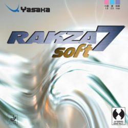 Накладка Yasaka Rakza 7 Soft красная 2,0