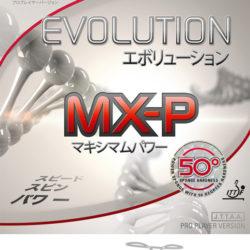 Накладка Tibhar Evolution MX-P 50° цвет красный, толщина 2.1-2.2