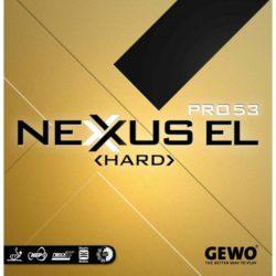Накладка GEWO Nexxus EL Pro 53 Hard цвет чёрный, толщина 2.1
