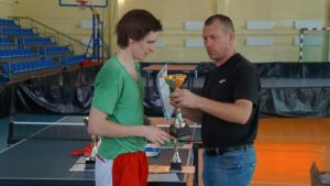 Read more about the article Рождественский турнир в ТТИ ЮФУ г. Таганрога по настольному теннису.